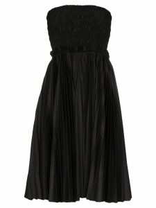 Khaite Rosa smocked midi dress - Black