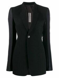 Rick Owens contrasting blazer - Black