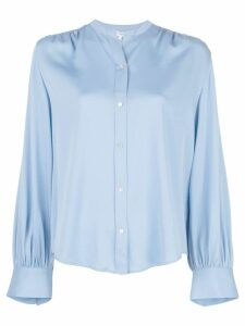 Vince shirred back blouse - Blue