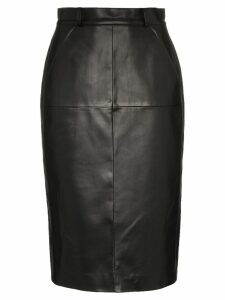 We11done high-waisted pencil skirt - Black