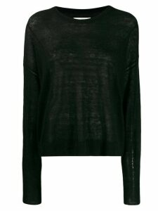 Isabel Marant Étoile dropped shoulder sweater - Black