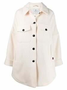 Woolrich single-breasted coat - NEUTRALS