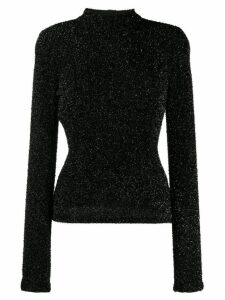 Philosophy Di Lorenzo Serafini textured round neck sweater - Black