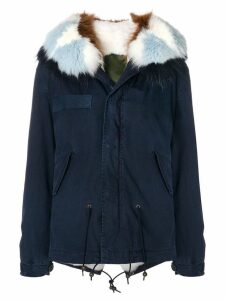 Mr & Mrs Italy slim-fit short parka coat - Blue