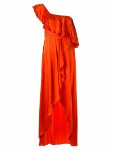 Alexis Austyn one-shoulder dress - Orange