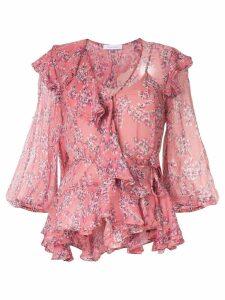 Rachel Gilbert Chiara ruffle top - Pink
