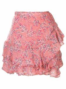 Rachel Gilbert Chiara ruffle skirt - Pink