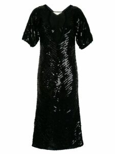 Manning Cartell Sea Stars sequined dress - Black