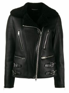 Ermanno Scervino shearling jacket - Black