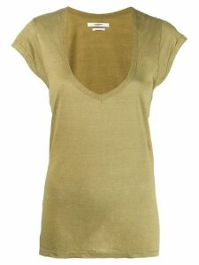 Isabel Marant Étoile short sleeve T-shirt - Green