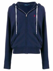 Polo Ralph Lauren logo hoodie - Blue