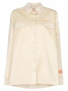 Heron Preston double layer work shirt - Neutrals