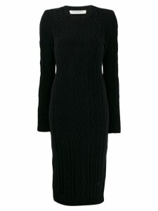 Philosophy Di Lorenzo Serafini cable knit midi dress - Black