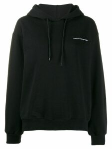 Chiara Ferragni logomania hoodie - Black