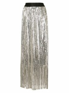 Rachel Comey fringed embellished skirt - Silver