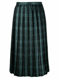 Marco De Vincenzo pleated skirt - Blue