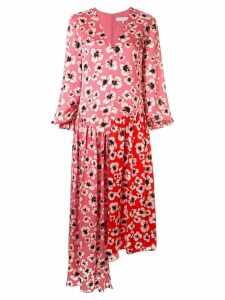 Borgo De Nor floral asymmetric dress - PINK