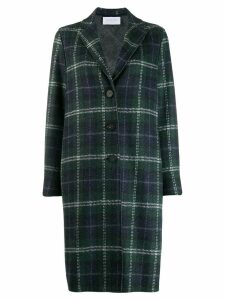 Harris Wharf London oversized check coat - Green