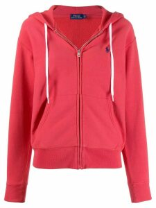 Polo Ralph Lauren logo hoodie - Red