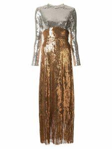 Rachel Comey contrast maxi dress - Gold
