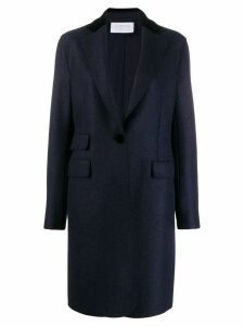 Harris Wharf London open front coat - Blue