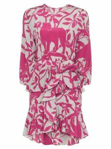 Johanna Ortiz Lady Marmalade floral print dress - Pink