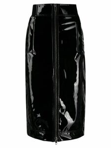 Marc Jacobs zip-through pencil skirt - Black