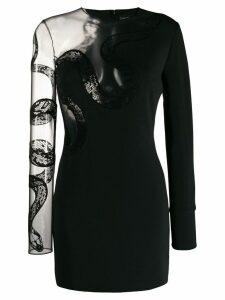 David Koma No Ruffle dress - Black