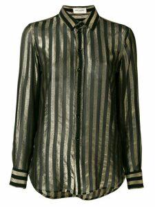 Saint Laurent striped shirt - Black
