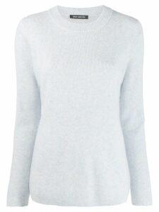 Iris Von Arnim cashmere knitted sweatshirt - Blue