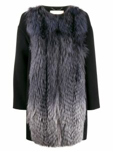Fendi straight gradient coat - Black