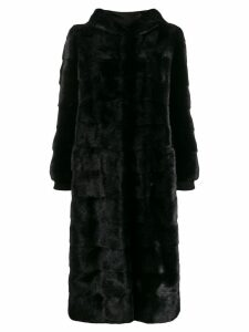 Simonetta Ravizza reversible fur coat - Black