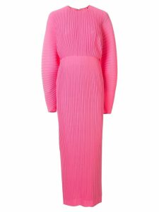 Solace London pleated maxi dress - Pink