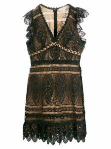 Michael Michael Kors scalloped lace dress - Black