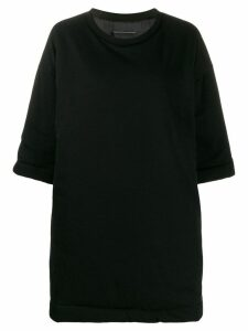 Mm6 Maison Margiela mini sweater dress - 900 Black