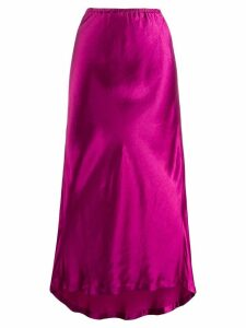 Sies Marjan high waisted drape skirt - Pink
