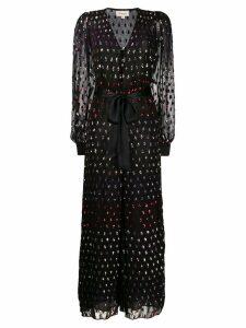Temperley London Rainbow evening dress - Black