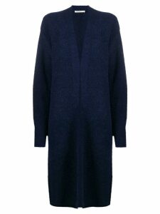 Mes Demoiselles relaxed long cardigan - Blue