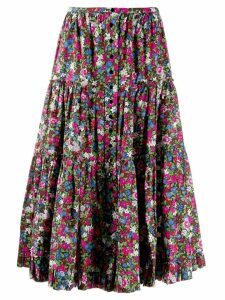 Marc Jacobs floral print skirt - Pink