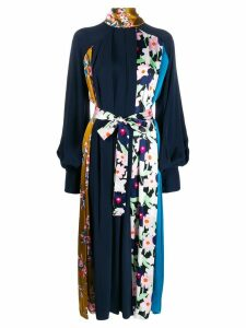 Roksanda floral print pleat dress - Blue