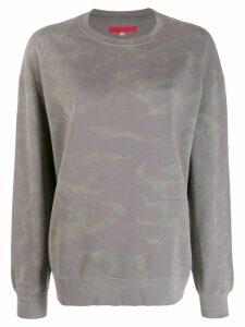 Eckhaus Latta oversized sweatshirt - Grey