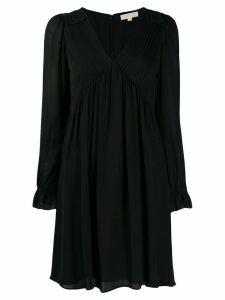 Michael Michael Kors V-neck short dress - Black