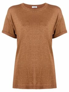 Brunello Cucinelli classic short-sleeve T-shirt - Brown