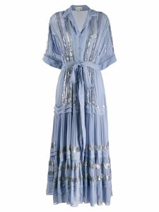 Temperley London Sky cocktail dress - Blue