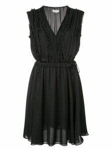 Jason Wu ruffle trim dress - Black