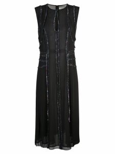 Jason Wu ruffle trim midi dress - Black