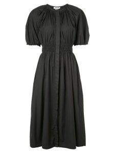 Jason Wu puff sleeve midi dress - Black