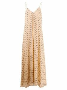 Forte Forte polka dot maxi dress - Neutrals