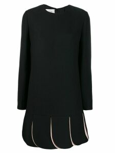 Valentino crêpe couture dress - Black