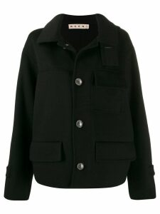 Marni double-face short coat - Black